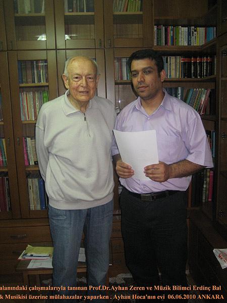 Prof.Dr. Ahmet Zeren Hocamı Ziyaret Anısına